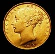 Victoria Gold Sovereign 1884 Obverse