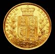 Victoria Gold Sovereign 1884 Reverse