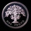 Elizabeth II Decimal £1 1987 Reverse
