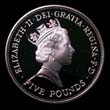 Elizabeth II Five pound Crown 1990 Obverse
