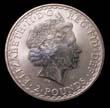 Elizabeth II Britannia Silver £2 1998 Obverse