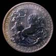 Elizabeth II Britannia Silver £2 1999 Reverse