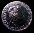 Elizabeth II Britannia Silver £2 2001 Obverse