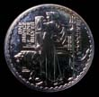 Elizabeth II Britannia Silver £2 2001 Reverse