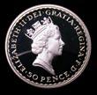 Elizabeth II Britannia Silver 50p 1997 Obverse