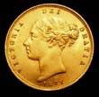 Victoria Gold ½ Sovereign 1877 Obverse