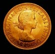 Elizabeth II Gold Sovereign 1962 Obverse