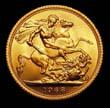 Elizabeth II Gold Sovereign 1968 Reverse