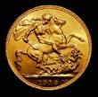 George V Gold Sovereign 1913 Reverse