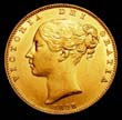 Victoria Gold Sovereign 1838 Obverse