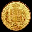 Victoria Gold Sovereign 1838 Reverse