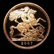 Elizabeth II Gold Sovereign 2007 Reverse