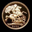 Elizabeth II Gold Sovereign 2000 Reverse