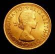 Elizabeth II Gold Sovereign 1965 Obverse