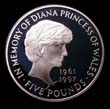 Elizabeth II Five pound Crown 1999 Reverse