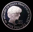 Elizabeth II Five pound Crown 1999 Reverse