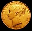 Victoria Gold Sovereign 1858 Obverse