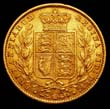 Victoria Gold Sovereign 1858 Reverse