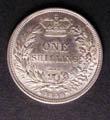 Victoria Shilling 1859 Reverse