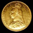 Victoria Gold Sovereign 1887 Obverse