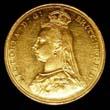 Victoria Gold Sovereign 1887 Obverse