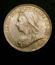 Victoria Shilling 1899 Obverse