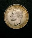 George VI Florin 1943 Obverse