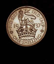 George VI Shilling 1937 Reverse
