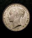 Victoria Shilling 1853 Obverse
