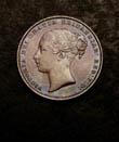 Victoria Shilling 1866 Obverse