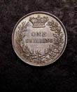 Victoria Shilling 1866 Reverse