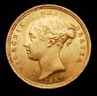 Victoria Gold ½ Sovereign 1880 Obverse