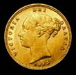 Victoria Gold ½ Sovereign 1885 Obverse
