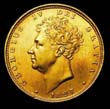 George IV Gold Sovereign 1827 Obverse