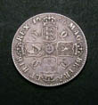Charles II Shilling 1666 Reverse