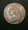 George II Shilling 1745 Obverse