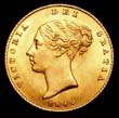 Victoria Gold ½ Sovereign 1842 Obverse