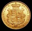 Gold ½ Sovereign Reverse