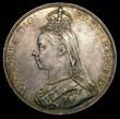 Victoria Crown 1891 Obverse
