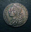 George II Shilling 1758 Obverse