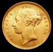 Victoria Gold ½ Sovereign 1884 Obverse
