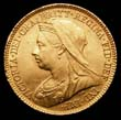Victoria Gold ½ Sovereign 1900 Obverse