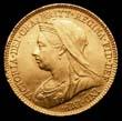 Victoria Gold ½ Sovereign 1900 Obverse