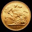 Victoria Gold ½ Sovereign 1900 Reverse