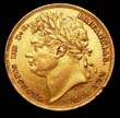George IV Gold Sovereign 1825 Obverse
