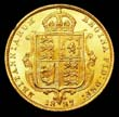Victoria Gold ½ Sovereign 1887 Reverse