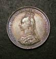 Victoria Shilling 1887 Obverse