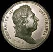 George III Crown Undated Obverse