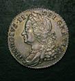 George II Shilling 1750 Obverse