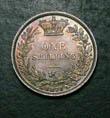 Victoria Shilling 1871 Reverse